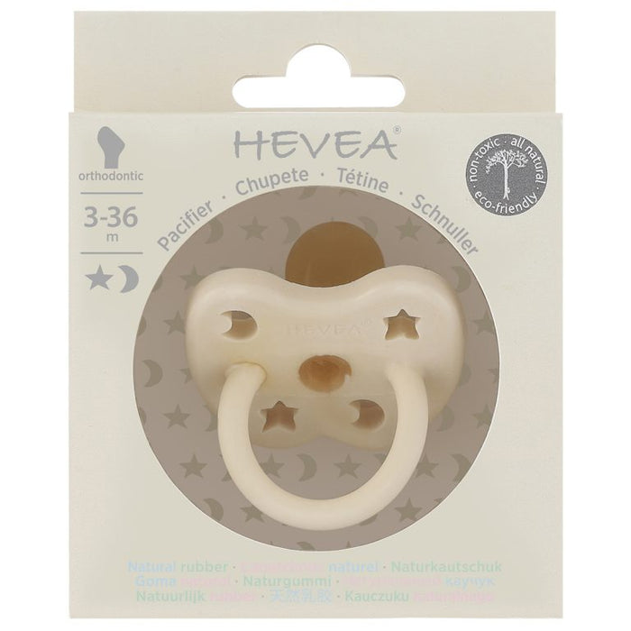 Hevea Hevea Pacifier - Milky White - Pearls & Swines