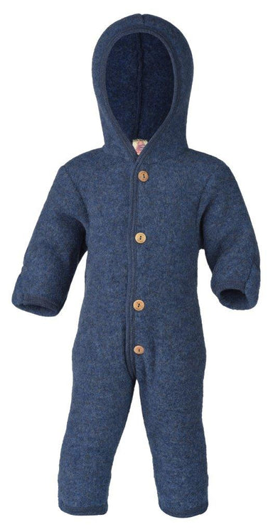 Engel Natur Engel Wool Overall - Blue Melange - Pearls & Swines