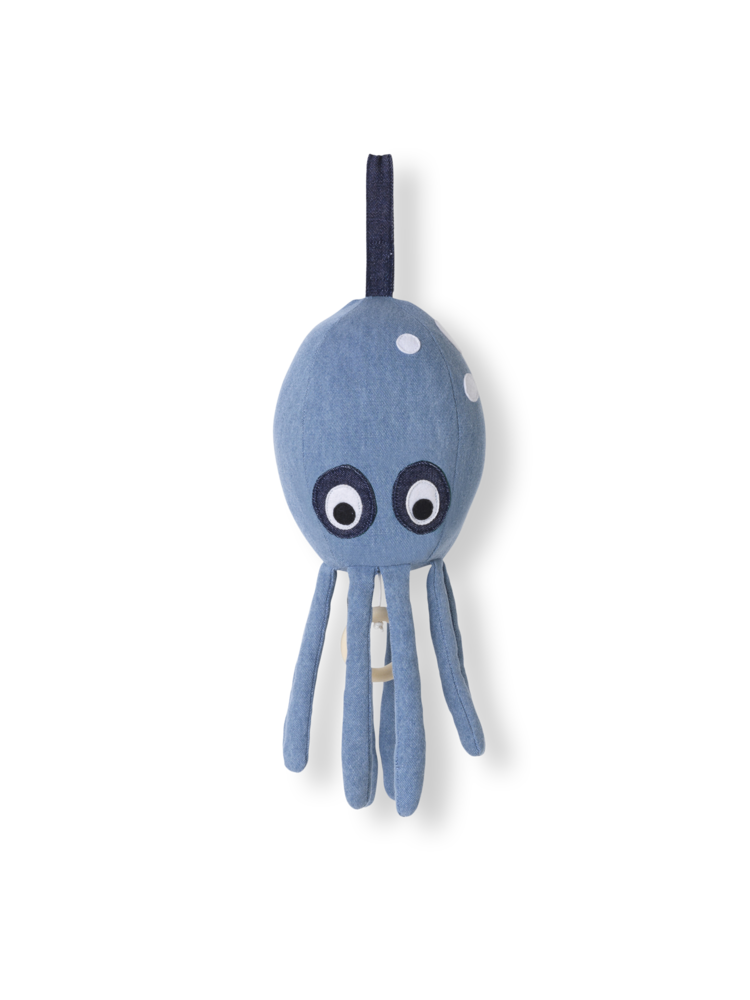 Ferm Living Ferm Living Octopus Music Mobile - Pearls & Swines
