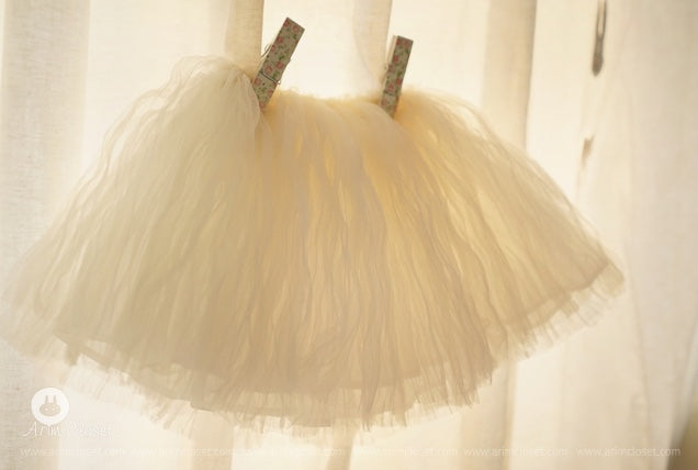Arim closet Arim Closet Tutu Off-White - Pearls & Swines