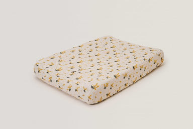 Garbo & Friends Garbo&Friends Mimosa Muslin Changing Mat Cover - Pearls & Swines