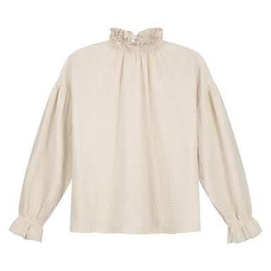 Daily Brat Daily Brat Holly Top - Ivory - Pearls & Swines