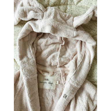 Konges Sløjd Konges Sløjd Terry Bathrobe - Blush - Pearls & Swines