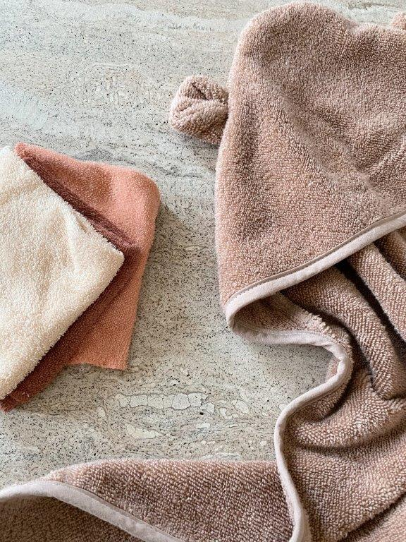 Konges Sløjd Konges Sløjd Terry Towel - Beige Tan - Pearls & Swines