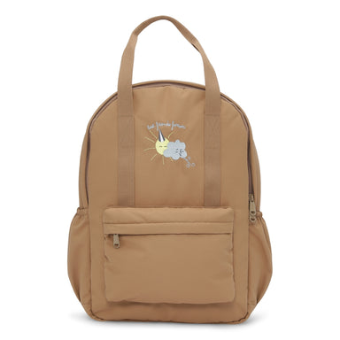 Konges Sløjd Konges Sløjd Loma Kids Backpack Mini - Almond - Pearls & Swines