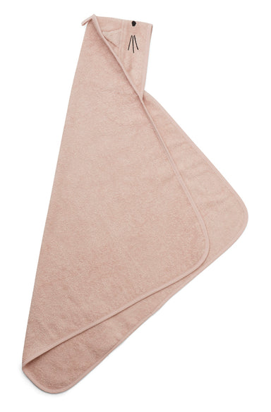 Liewood Liewood Albert Hooded Towel - Cat Rose - Pearls & Swines