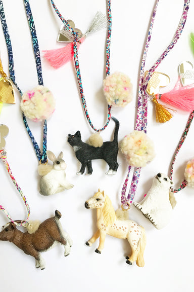 Little Loveland Little Loveland Necklace Schleich® - Little Goat - Pearls & Swines