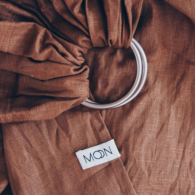 Moon Moon Ring Sling - Cinnamon Moon - Pearls & Swines