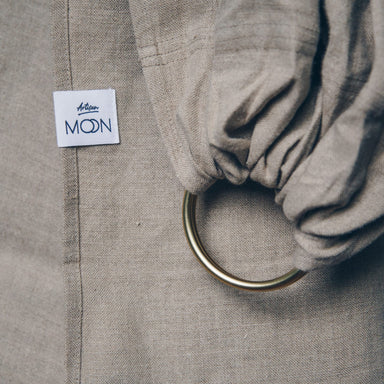 Moon Moon Ring Sling - Artisan Clay Moon - Pearls & Swines