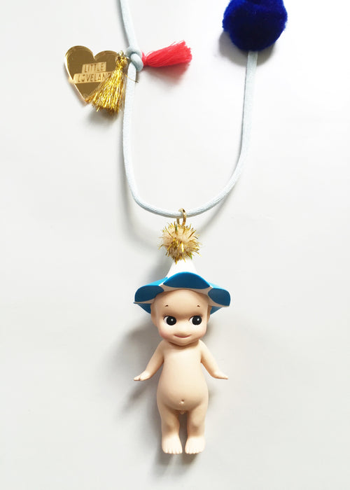 Little Loveland Little Loveland Necklace Sonny Angel® - Morning Glory - Pearls & Swines
