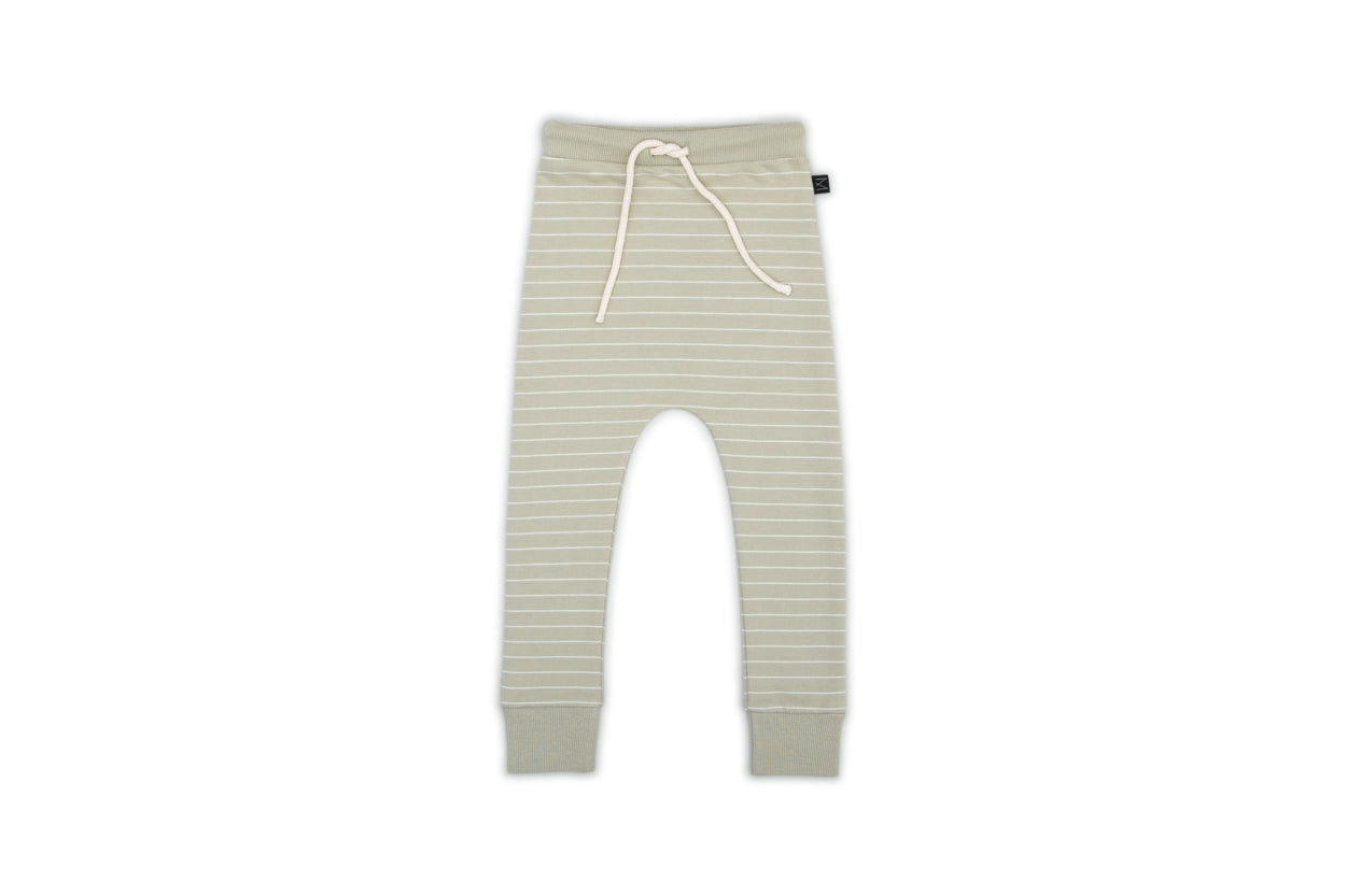 Monkind Monkind Olive Stripe Pants - Pearls & Swines