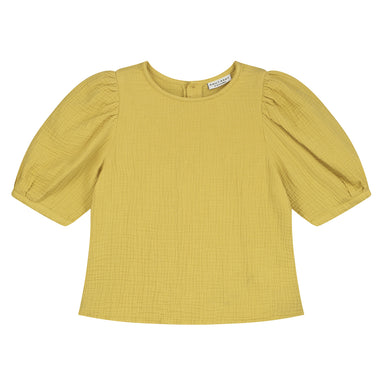 Daily Brat Daily Brat Sara Top - Mellow Yellow - Pearls & Swines