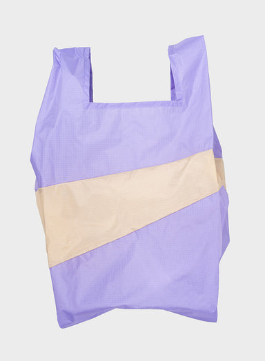 Susan Bijl Susan Bijl Shopping Bag - Lilac & Cees, L - Pearls & Swines