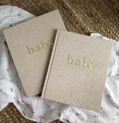 Write to me Write To Me Baby Journal (boxed)- The First Year Of You - Pearls & Swines