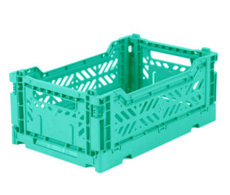 Aykasa folding crates Aykasa Folding Crate MINI - Mint - Pearls & Swines
