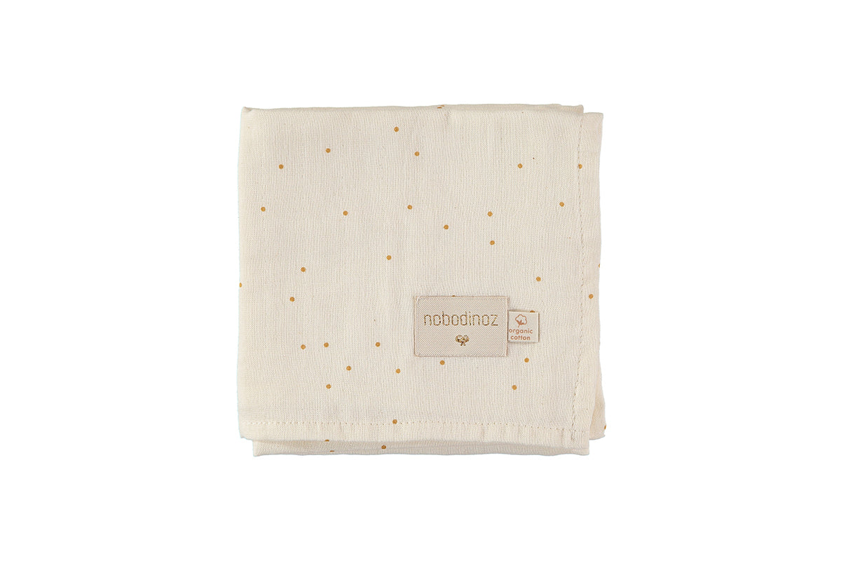 Nobodinoz Nobodinoz Baby Love Swaddles - Honey Sweet Dots - Pearls & Swines