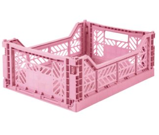 Aykasa folding crates Aykasa Folding Crate MIDI - Baby Pink - Pearls & Swines