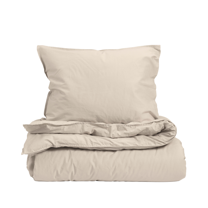 Midnatt Midnatt  Single Duvet Pebble - Pearls & Swines