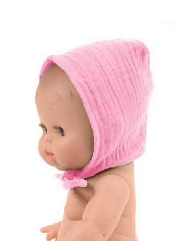 Minikane Minikane Baby Doll Hat - Rose - Pearls & Swines