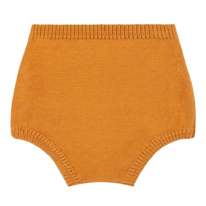 Le Petit Germain Le Petit Germain knitted bloomer Aimee - Mustard - Pearls & Swines