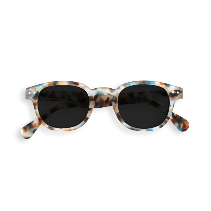 IZIPIZI IZIPIZI #C Sun Junior Blue Tortoise - Pearls & Swines