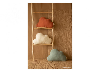 Nobodinoz Nobodinoz Cloud Cushion - Toffee - Pearls & Swines