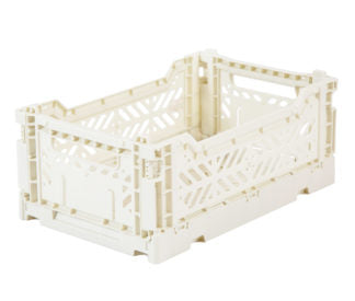 Aykasa folding crates Aykasa Folding Crate MINI - Coconut - Pearls & Swines