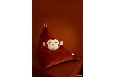 Nobodinoz Nobodinoz Savanna Monkey Cushion - Pearls & Swines