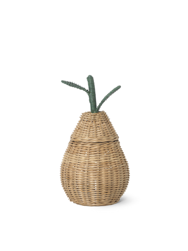 Ferm Living Ferm Living Small Pear Braided Storage - Pearls & Swines