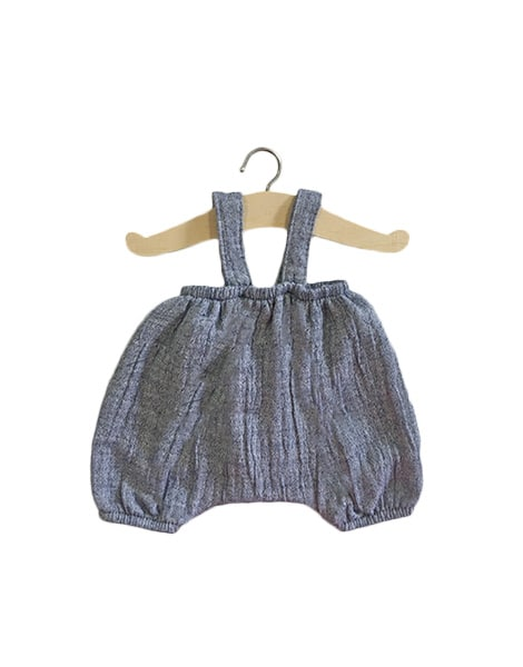Minikane Minikane Baby Doll Bloomer Kim - Denim - Pearls & Swines