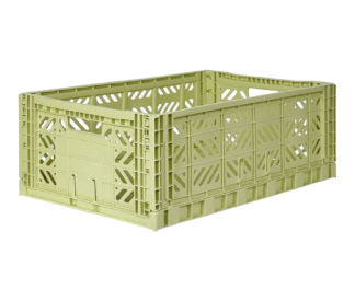 Aykasa folding crates Aykasa Folding Crate MAXI - Lime Cream - Pearls & Swines