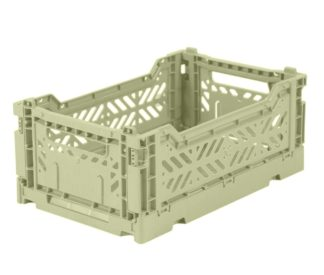 Aykasa folding crates Aykasa Folding Crate MINI - Lime Cream - Pearls & Swines