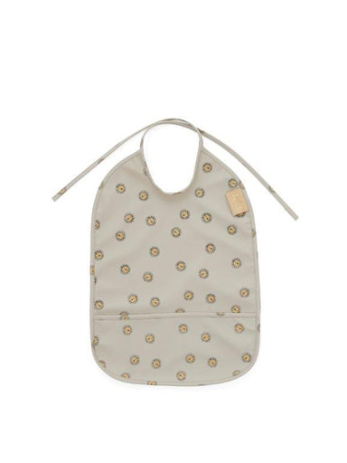 OYOY OYOY Lion Bib - Grey - Pearls & Swines