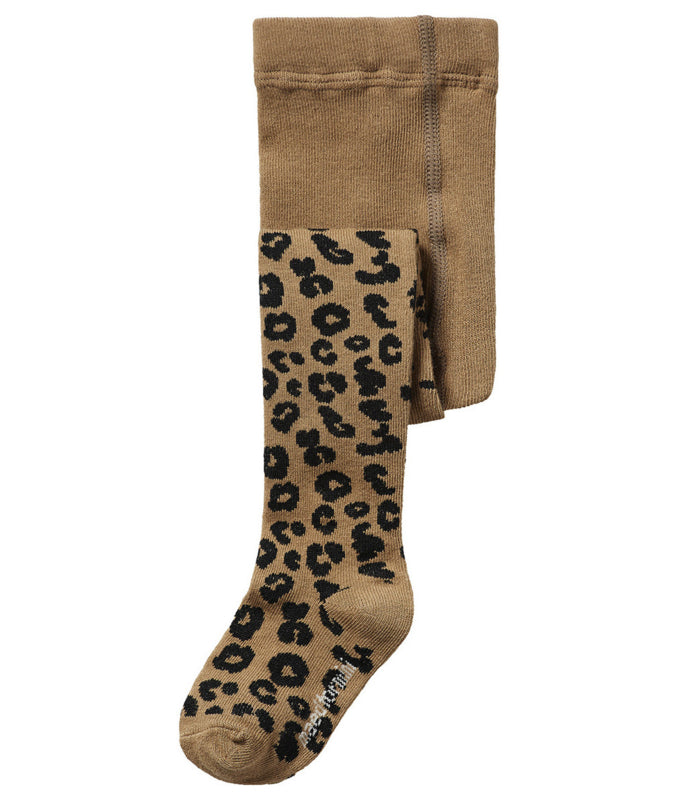Maed for mini Maed for Mini Brown Leopard Tights - Pearls & Swines