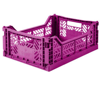 Aykasa folding crates Aykasa Folding Crate MIDI - Purple - Pearls & Swines