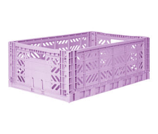 Aykasa folding crates Aykasa Folding Crate MAXI - Orchid - Pearls & Swines