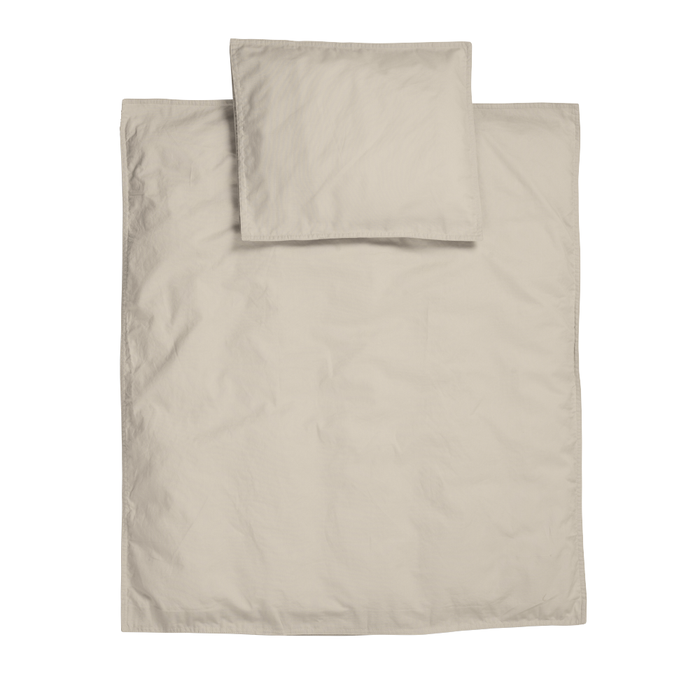 Midnatt Midnatt Crib Duvet Pebble - Pearls & Swines
