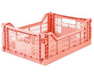 Aykasa folding crates Aykasa Folding Crate MIDI - Salmon Pink - Pearls & Swines