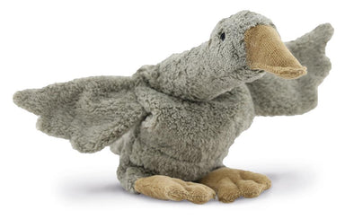 Senger Senger Cuddly Animal Goose Small - Grey - Pearls & Swines