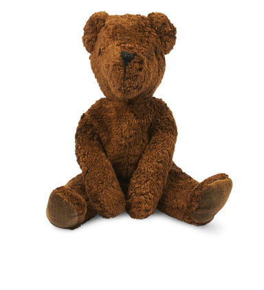 Senger Senger Floppy Animal Bear Small - Brown - Pearls & Swines