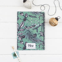 A5 wire bound advent devotional journal