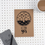 Y is for Yes - A5 Bible Alphabet Journal