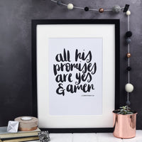 Yes and Amen Print
