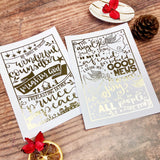 Gold Foil Christmas A5 Prints - Isaiah 9:6 or Luke 2:10