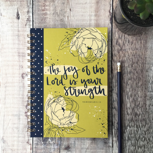 Joy of the Lord Hard Cover A5 Devotional Journal