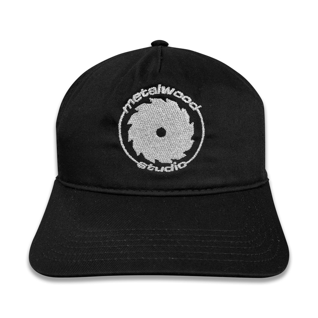Spin Milled Semi-Structured 5-Panel Snapback Hat