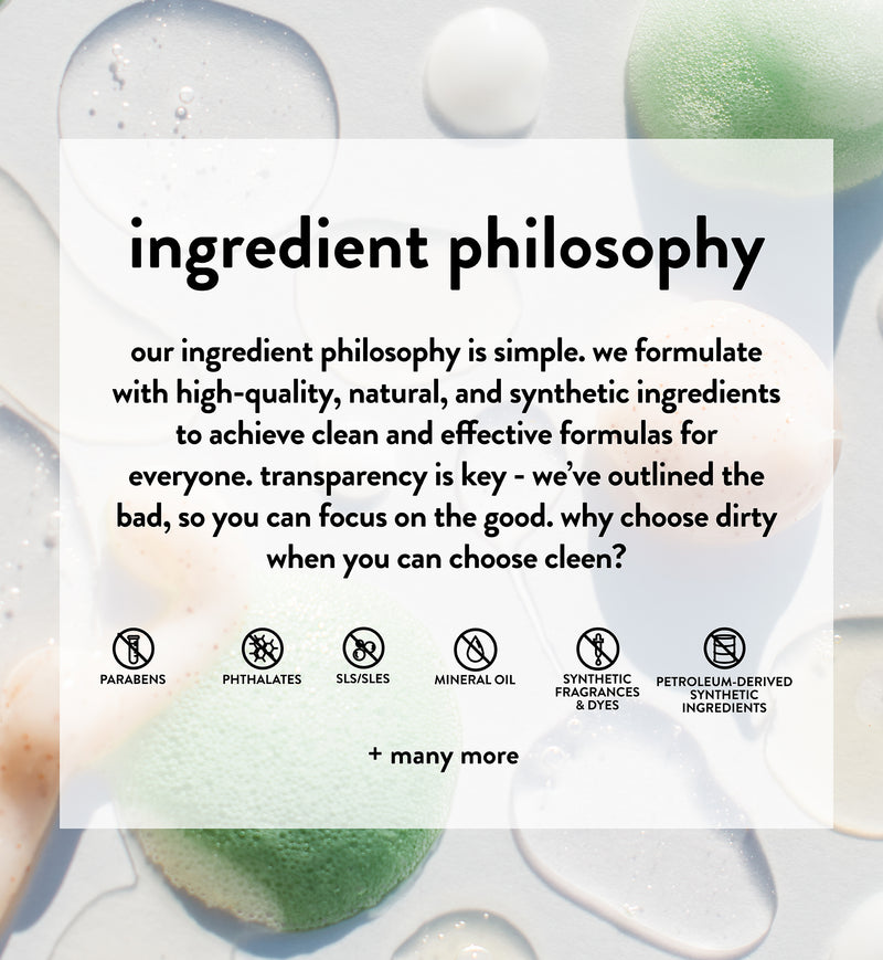 Ingredient Philosophy