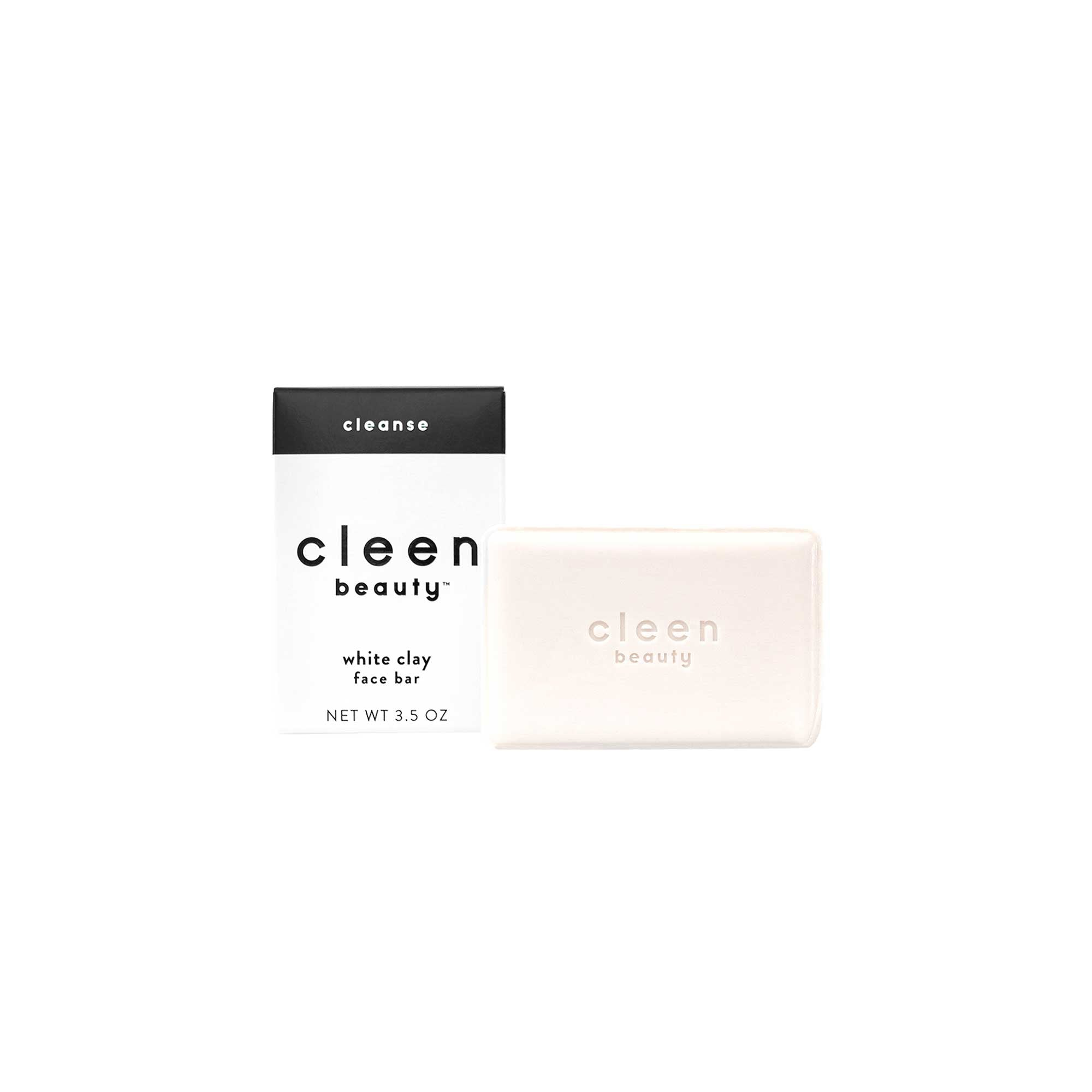 cleen beauty™ White Clay Face Bar
