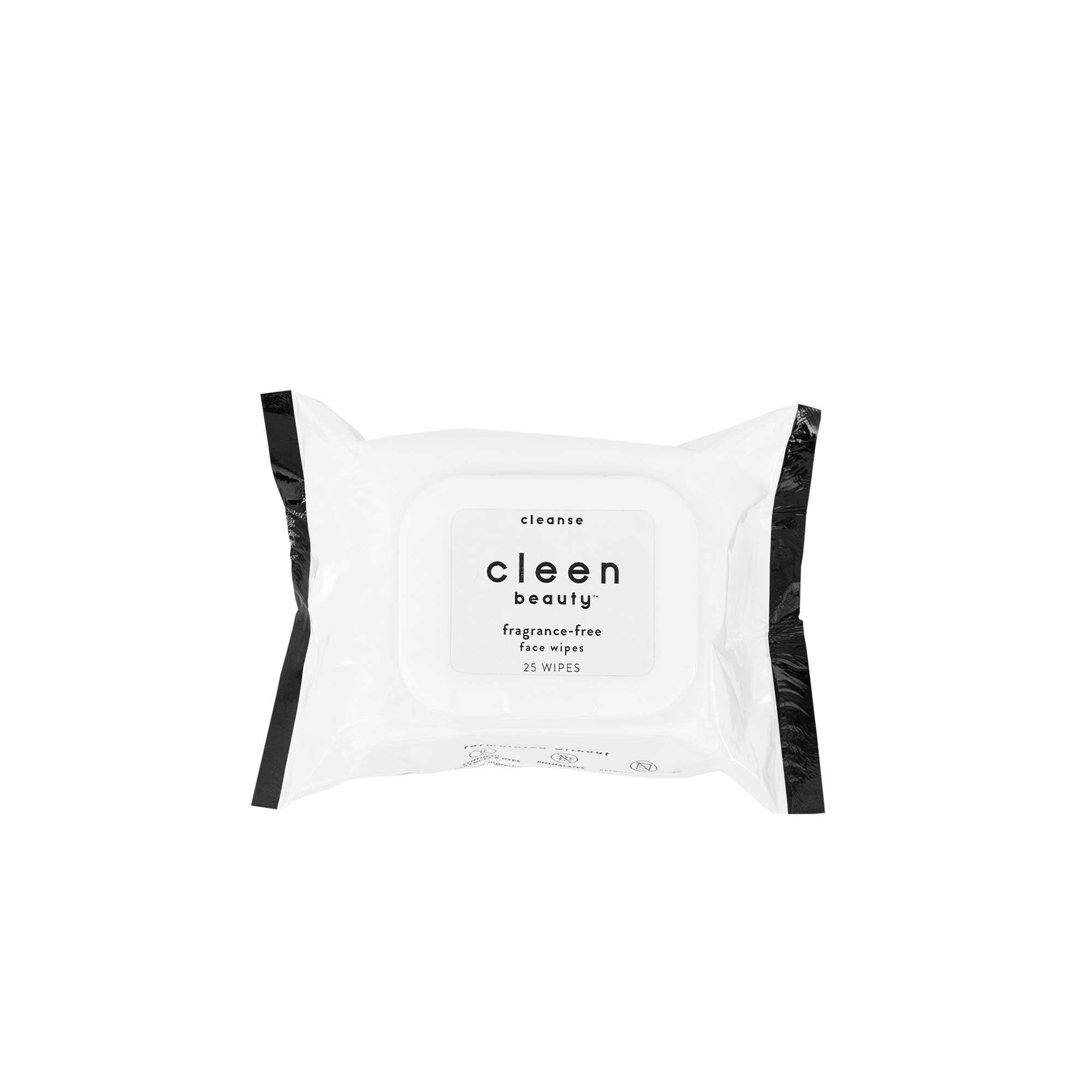 cleen beauty™ Fragrance-Free Face Wipes