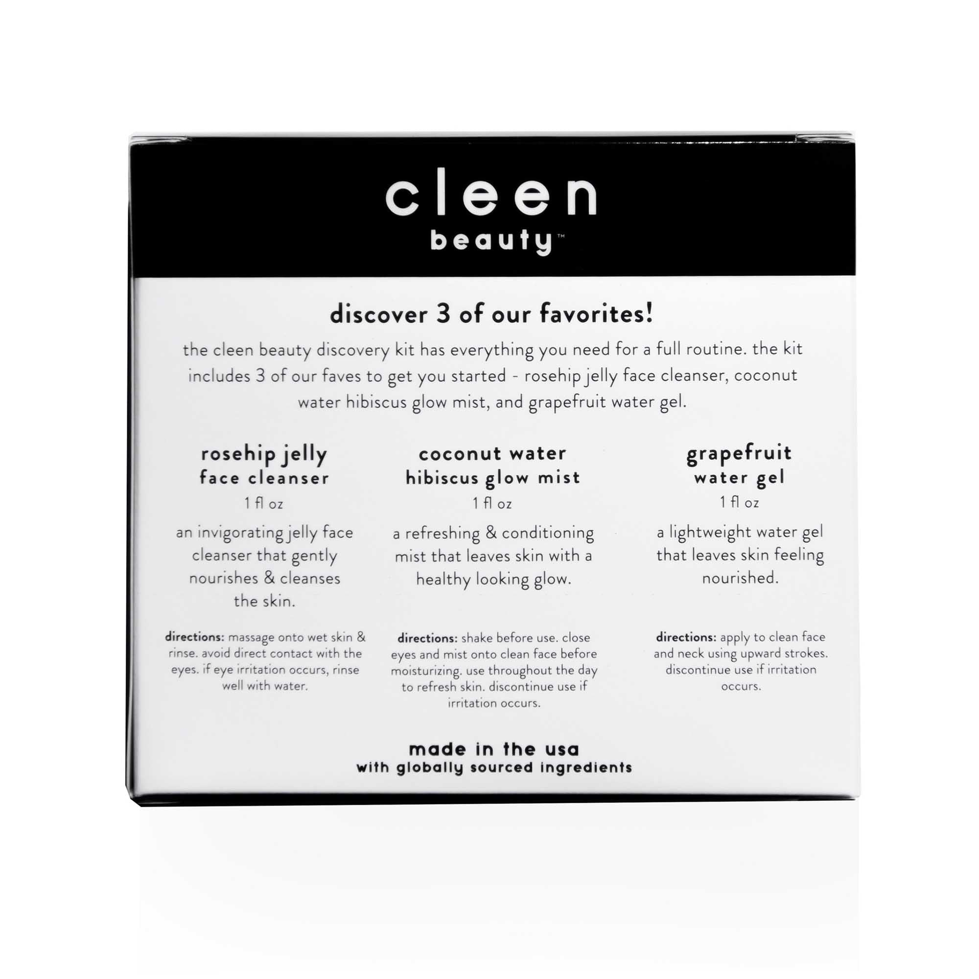 cleen beauty™ Discovery Kit